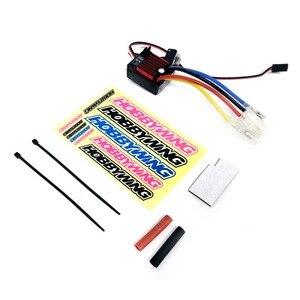 Image 2 - Электронный регулятор скорости HobbyWing quirun Brushed 1060 60A ESC 1060 с переключателем режима BEC для радиоуправляемого автомобиля 1:10