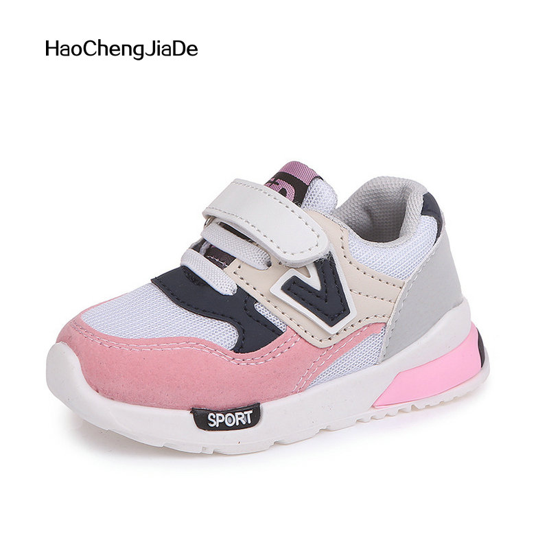 Kids Shoes Sneakers New Spring Autumn Fashion Sport Girls Shoes Soft Breathable Running Boys Non-slip Children casual Shoe