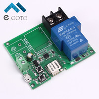 Wifi Remote Control Relay Module 5V 30A High Power 6000W Phone APP Remote Control Timer Switch