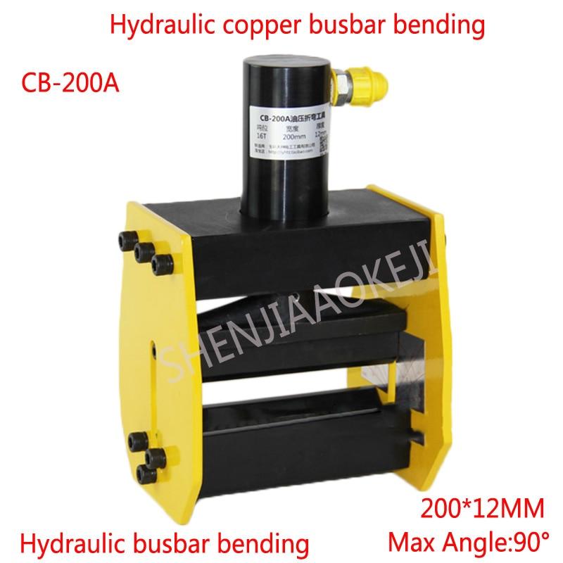 1pc CB-200A Hydraulic bus bar bender,Hydraulic Copper busbar bending machine,busbar bender,brass bender bending tool цена