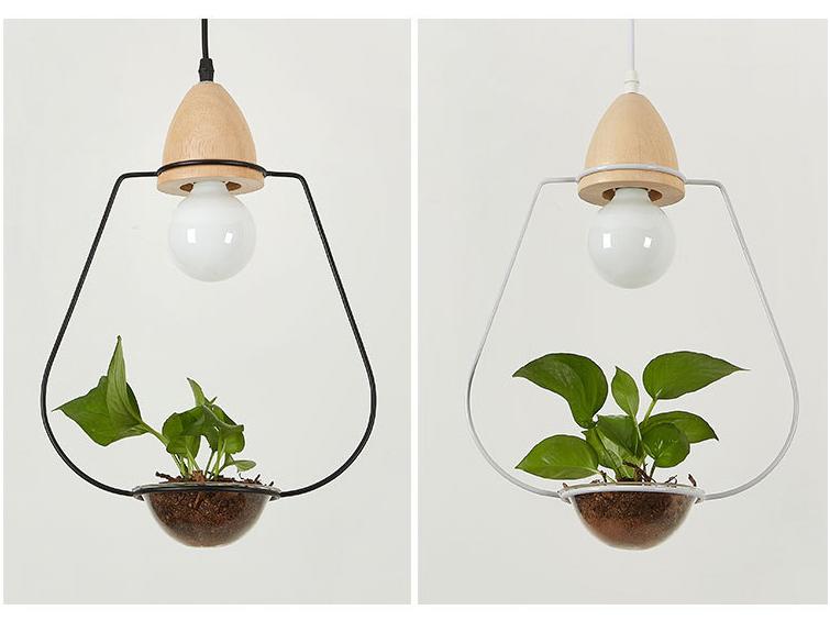 Plant Pendant Light