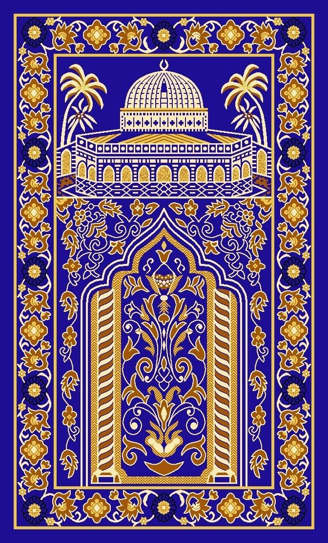 100 Nylon Turkish Prayer Rugs Padded Prayer Rug Islamic