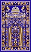 100% Nylon Turkish Prayer Rugs Padded Prayer Rug Islamic Prayer Rug Muslim Prayer Rug for Kids Woman and Man