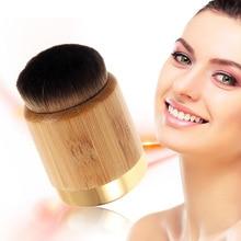 1pc Tart Makeup Brushes Bamboo Handle Loose Brush Powder Foundation Contour Fashion Brushes Authentic 3.5(diameter)x6cm(height)