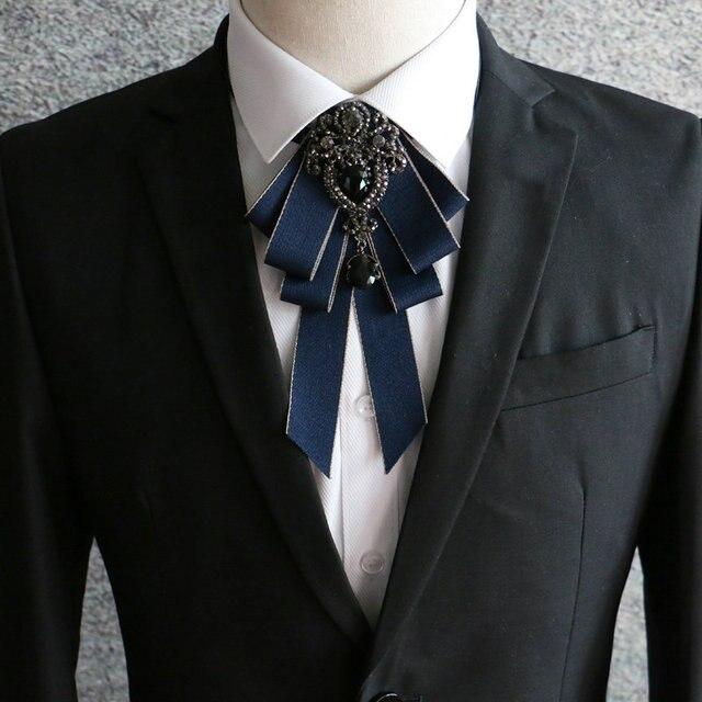 2018 Men Luxury Formal Business Wedding Party Collar Neck