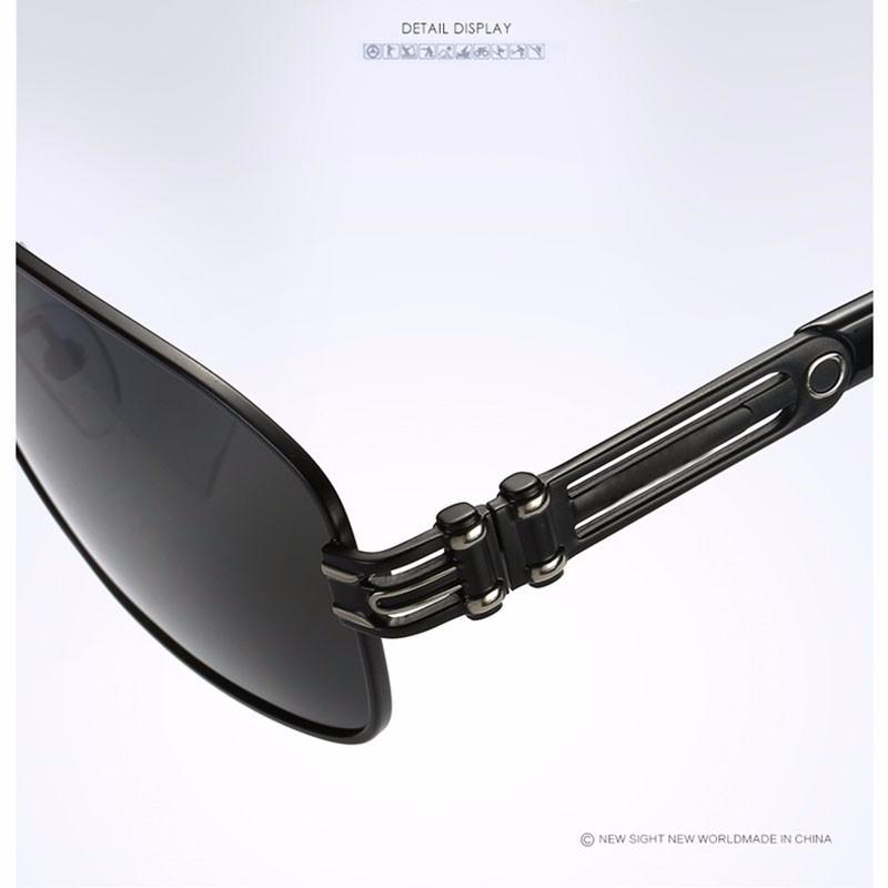 Roupai Polarized Super Cool Military Glasses For Police Driving Mens Square Anti Glare Sunglasses UV400 377 (1)
