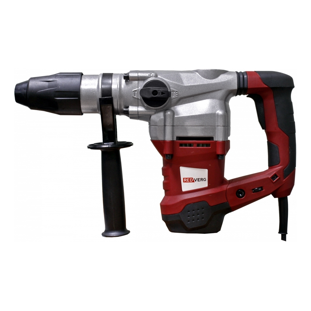 Hammer Drill electric REDVERG RD-RH1500 (power 1500 W, drilling in concrete to 36mm, антивибрационная system)) hammer drill electric redverg rd rh1500 power 1500 w drilling in concrete to 36mm антивибрационная system