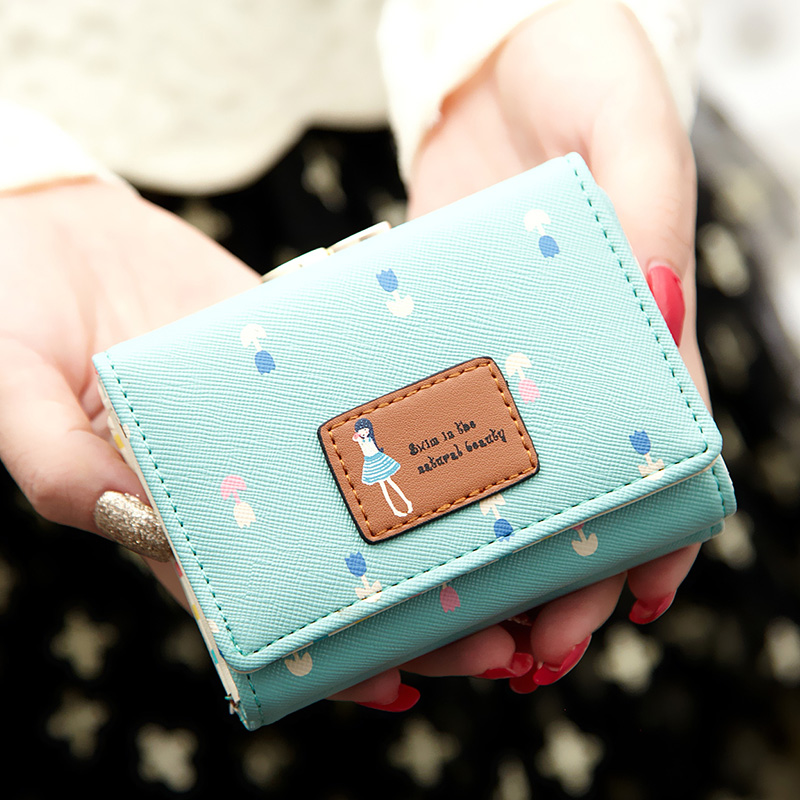 2016 new short wallet women purses cute young girl purse best gift for girls-in  Wallets from Luggage   Bags on Aliexpress.com  1cdf649d49cbf