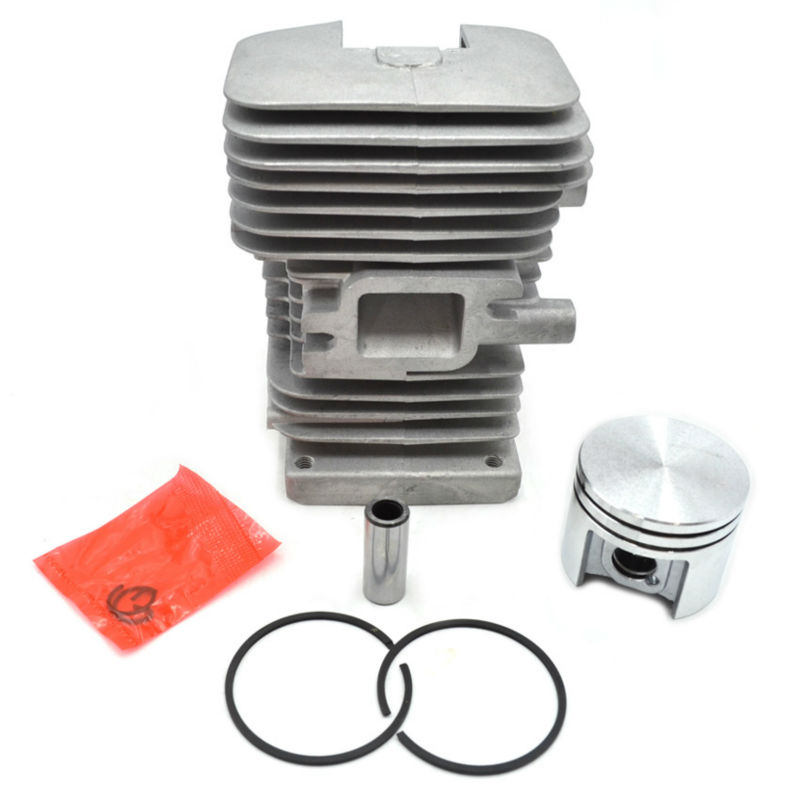 38mm MS180 Cylinder Piston Kit with Rings and Decompression Value For Stihl Chainsaw Parts quanchai qc4102t52 parts the set of piston and piston rings part number 4102qa 03001