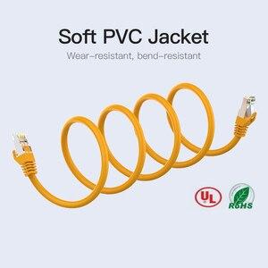 Image 5 - Vention Ethernet כבל RJ45 חתול 6a Lan כבל UTP RJ 45 רשת כבל עבור Cat6 תואם תיקון עבור מודם נתב כבל 1m 5m