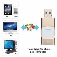 OTG Usb Flash Drive HD Pendrive Data Phone Pad Interface Stick Memory Portable High Speed USB
