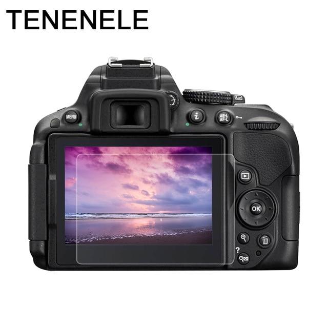 ac4f626bdffda TENENELE Protector de pantalla para Nikon D5100 D5200 D5300 D5500 D5600 LCD  de cristal templado película