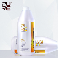 Brazilian keratin hair treatment formalin 5% 1000ml Hot sale hair straightener for hair mask and hair care free shipping