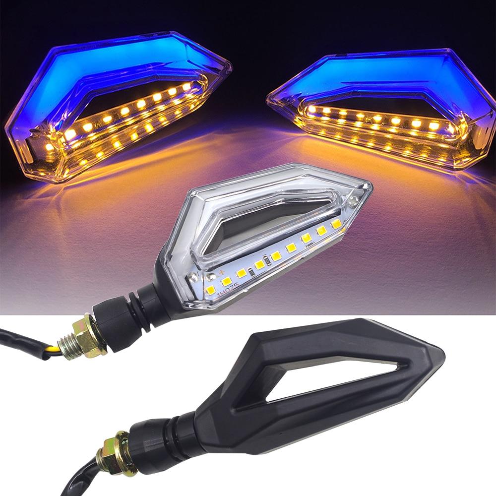 LED Motorcycle Turn Signal Lights 12V Indicator Moto Clignotant Blinker FOR Yamaha Aerox 155 Bmw S1000r Honda Vtx 1300 Vtx 1800
