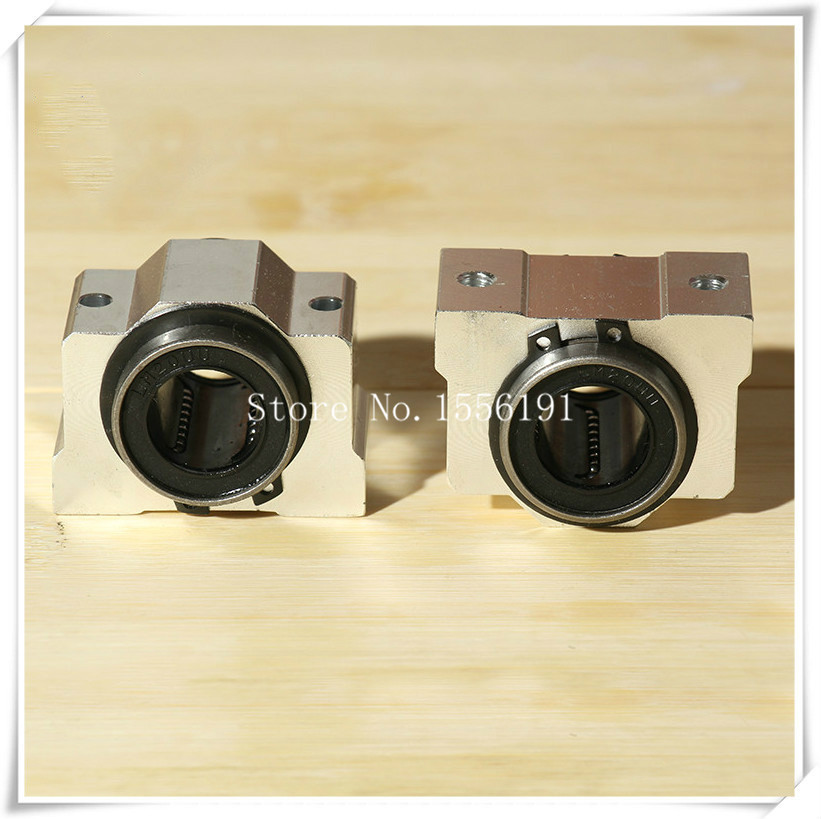 SCV30UU Slide Linear Bearings Aluminum box type Cylinder axis SCV30 Linear motion ball silide units CNC parts High quality in Slides from Home Improvement