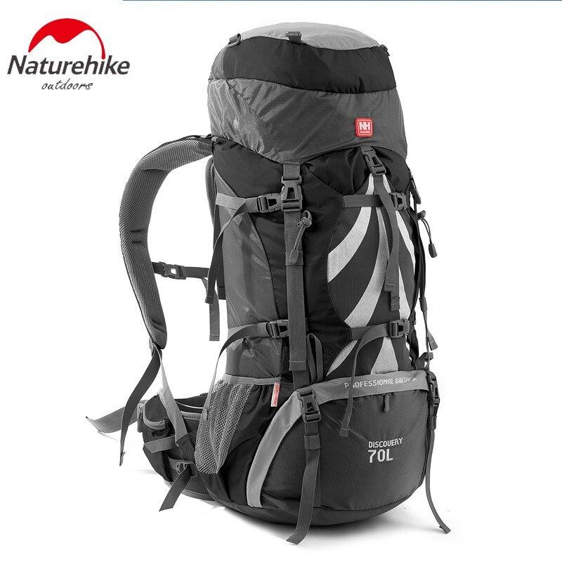 NatureHike Professionnel Alpinisme Sac À Dos En Plein Air Escalade Cyclisme Randonnée Étanche Grande Capacité 70L sac de montagne