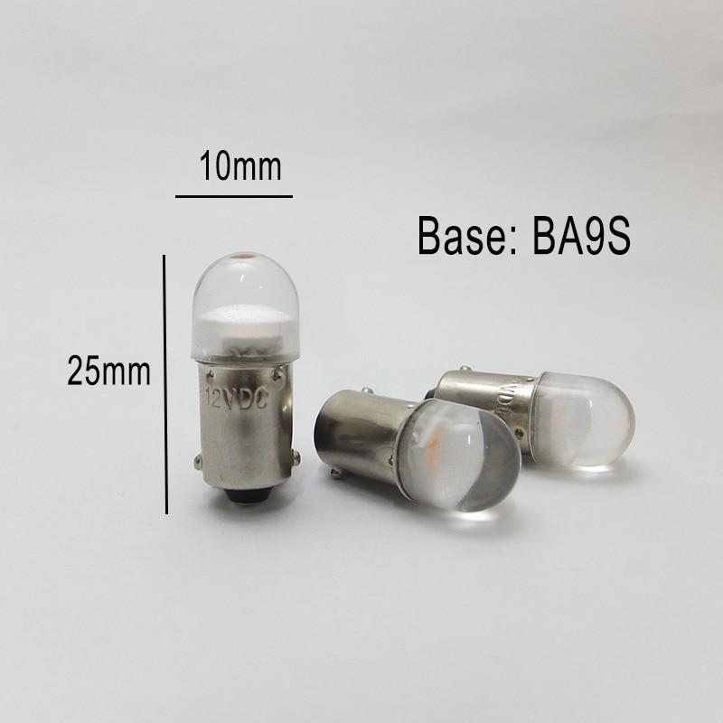 Топ модних T4w Ba9s E10 Лампочки Прямий - Автомобільні фари - фото 3