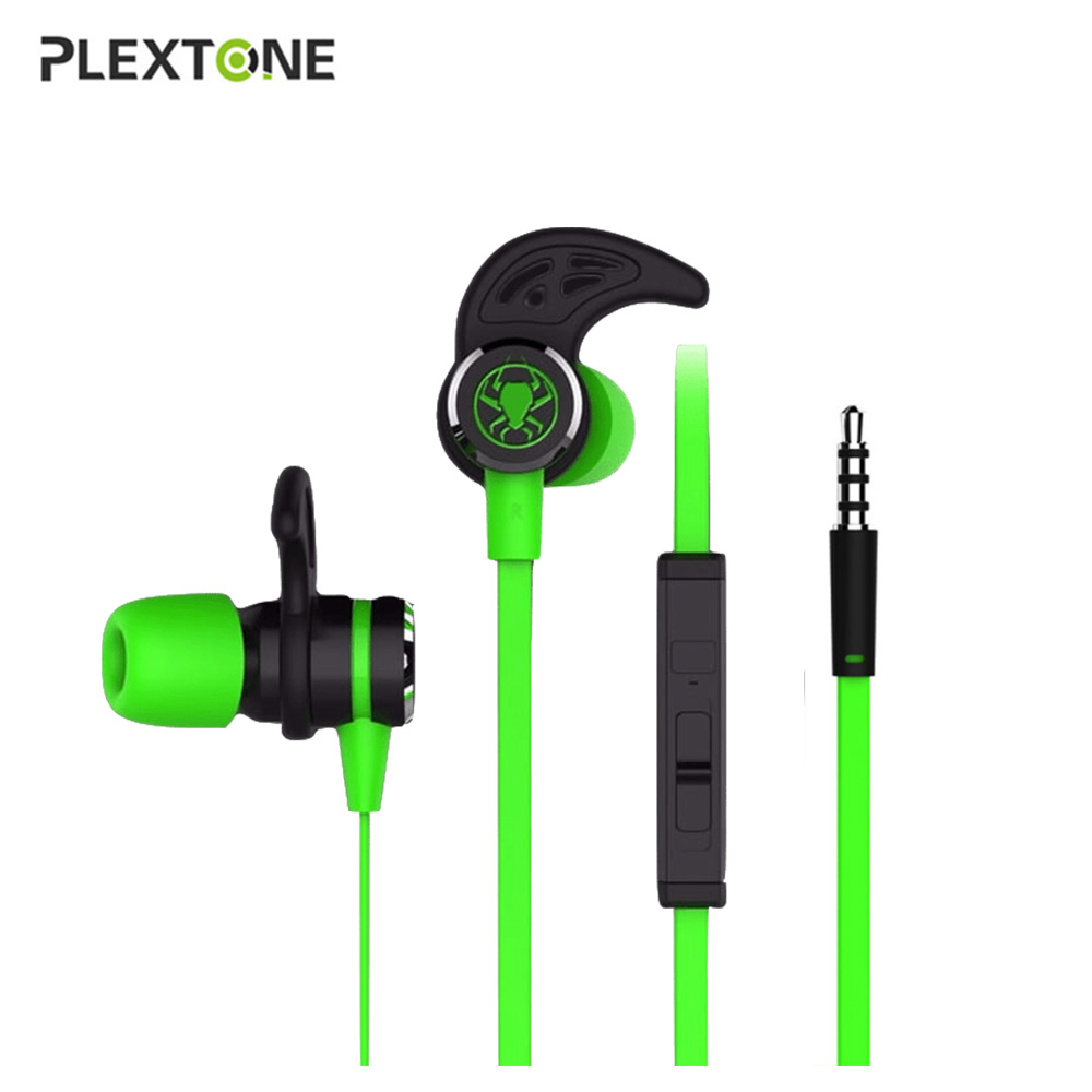 PLEXTONE G20 In-ear Earphone with Mic Stereo Gaming Headsets Wired Magnetic Deep Bass He ...