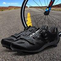 Santic Erkekler Bisiklet Yol Ayakkabı Dantel-up Naylon Taban Bisiklet Atletik Yarış Ekibi Bisiklet Ayakkabı Nefes Bisiklet Giysiler MS17005