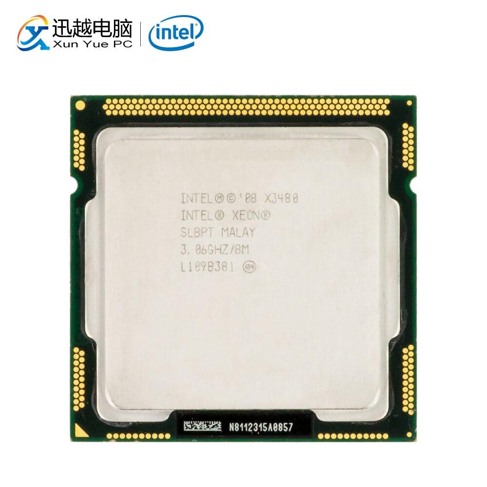Intel Xeon X3480 Desktop Processor 3480 Quad Core 3.06GHz 8MB L3 Cache LGA 1156 Server Used CPU|CPUs| |  - title=