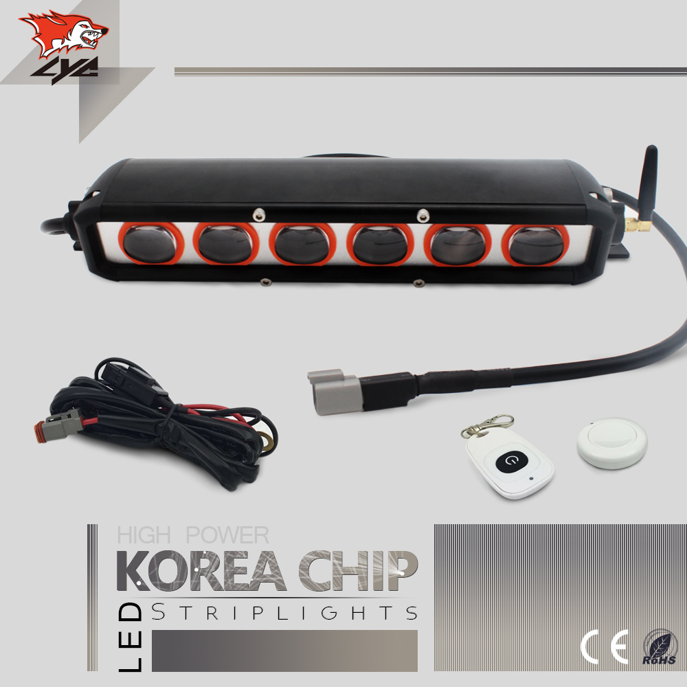 1 Pcs LYC for Led Light Bar Jeep jk Jeep Wrangler Led Light Bar Mount Spot/Flood Pattern Mini Led Lights for Cars Flash Lamp auxmart 22 led light bar 3 row 324w for jeep wrangler jk unlimited jku 07 17 straight 5d 400w led light bar mount brackets