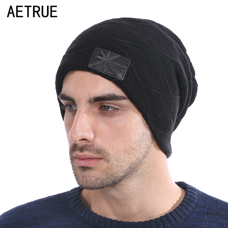 Brand Winter Skullies Beanies Men Knitted Hat Caps Women Beanie Warm Baggy Bonnet Fashion Blalaclava Winter Hats For Men Hat aetrue beanie knit winter hat skullies beanies men caps warm baggy mask new fashion brand winter hats for men women knitted hat