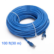30M Network LAN Cable CAT5 CAT5E RJ45 Male To Male Ethernet Cable Internet Wire Cord Patch Lead for Computer PC Laptop