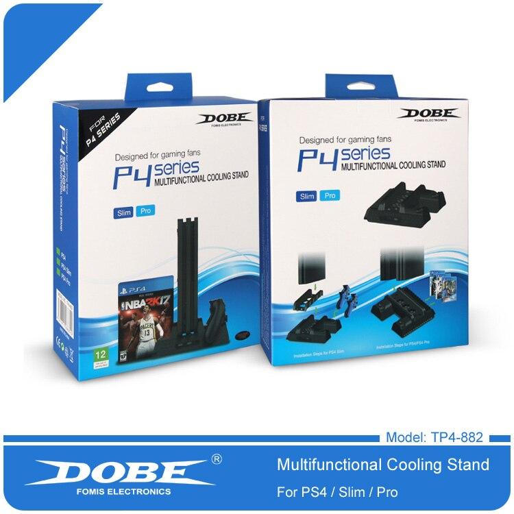 Chargeur de ventilateur de refroidissement multifonctionnel universel pour Console de jeu et contrôleur PS4 Pro Slim