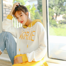 Korean K-pop Hoodie Sweatshirts Women Fall 2018 Harajuku Kawaii Clothes Trending