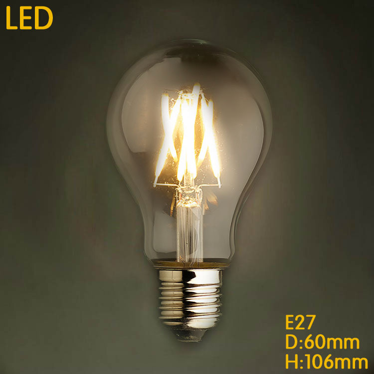 Lampada Bombilla Vintage Edison Bulb Light 4W/6W/8W A19 E27 220V LED Retro Lamp Lampara Incandescent Carbon Filament Bulb