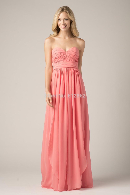 Bonito Vestidos De Dama Naranja Luz Molde - Colección de Vestidos de ...