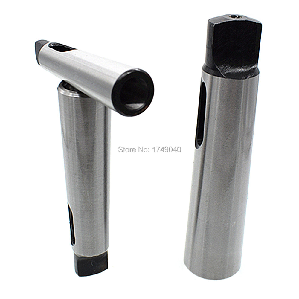 2PCS  MT1-MT4 MT2-MT4 Morse Taper Adapter Reducing Drill Chuck Sleeve