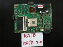 100% New For ASUS K52JB K52JR Laptop Motherboard K52JR REV:2.0 100% Tested