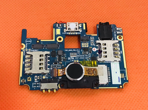Image 1 - Được sử dụng Ban Đầu mainboard 2 gam RAM + 16 gam ROM Bo Mạch Chủ cho LEAGOO KIICAA ĐIỆN MT6580A Quad Core Miễn Phí vận chuyển