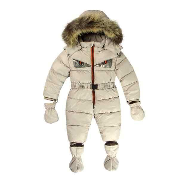 2019 nuevos mamelucos de invierno para Bebés Ropa para niños mono de plumas de algodón para recién nacidos monos para niños y niñas ropa de abrigo