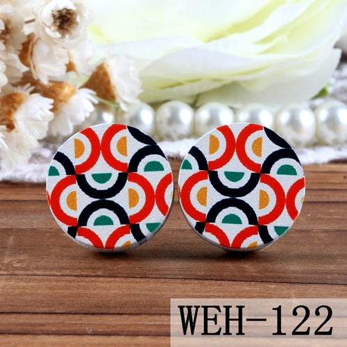 Pendant-- Flower Wood Cabochon 20pcs Wooden Button 16mm 25mm Round Handmade Photo Wood Cut Cabochon Fit For Earring Ring Back White