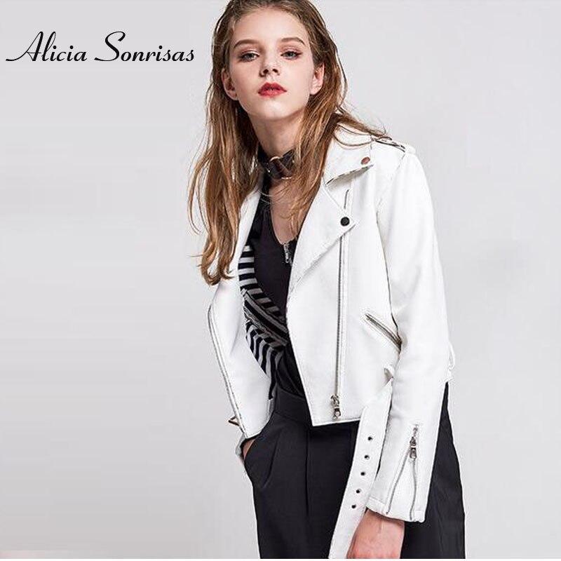 Veste simili Cuir Femme motard noir blanc serpent veste moto peau de serpent motif PU serpent Perfecto Femme Cuir SL031