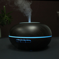 GXZ 300ml Ultrasonic Humidifier LED Lights Aroma Diffuser Essential Oil Diffusers 2 Modes Mist Maker Household