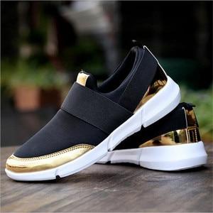 Image 3 - スニーカー女性の加硫の靴ファッションカジュアルスニーカー女性フラット女性の靴 zapatillas mujer