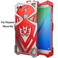 Powerful Shockproof Screw Metal Case ForHuawei Nova Lite Simon New Thor Series Aviation Aluminum Case Cover