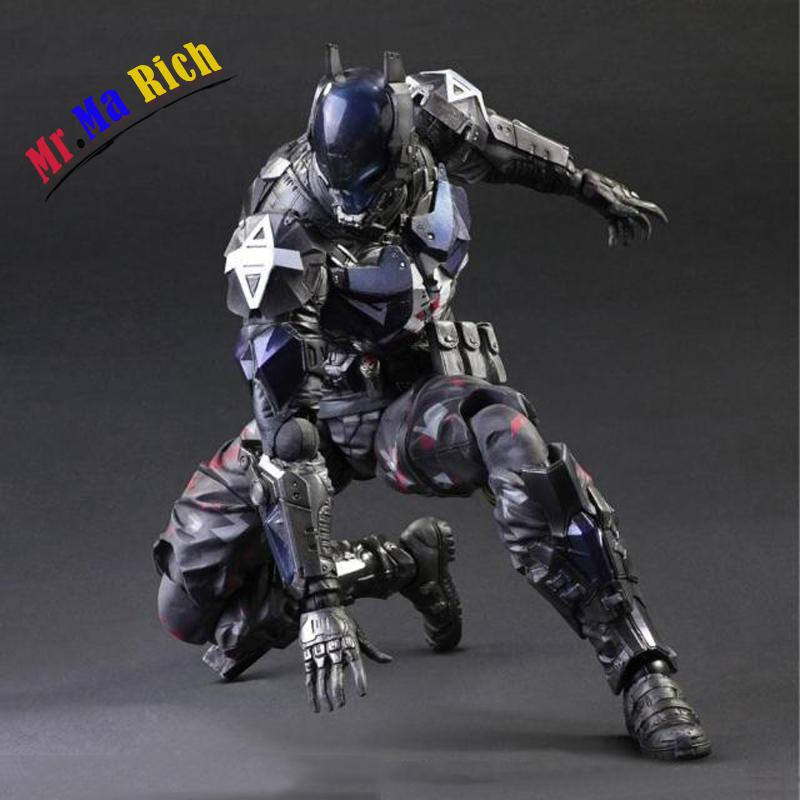 Arkham Knight Play Art Pa Kai Batman Series Action Figure Pvc Statue 27cm High Collectible play arts 27cm arkham knight batman robin action figure model toys