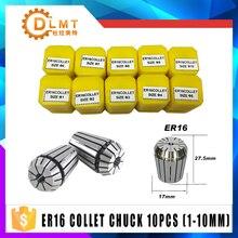 Juego de pinza de precisión para torno de máquina de grabado CNC, herramienta de fresadora, ER16, 1 10MM, 1/4, 6,35, 1/8, 3.175, 1,5, 2,5