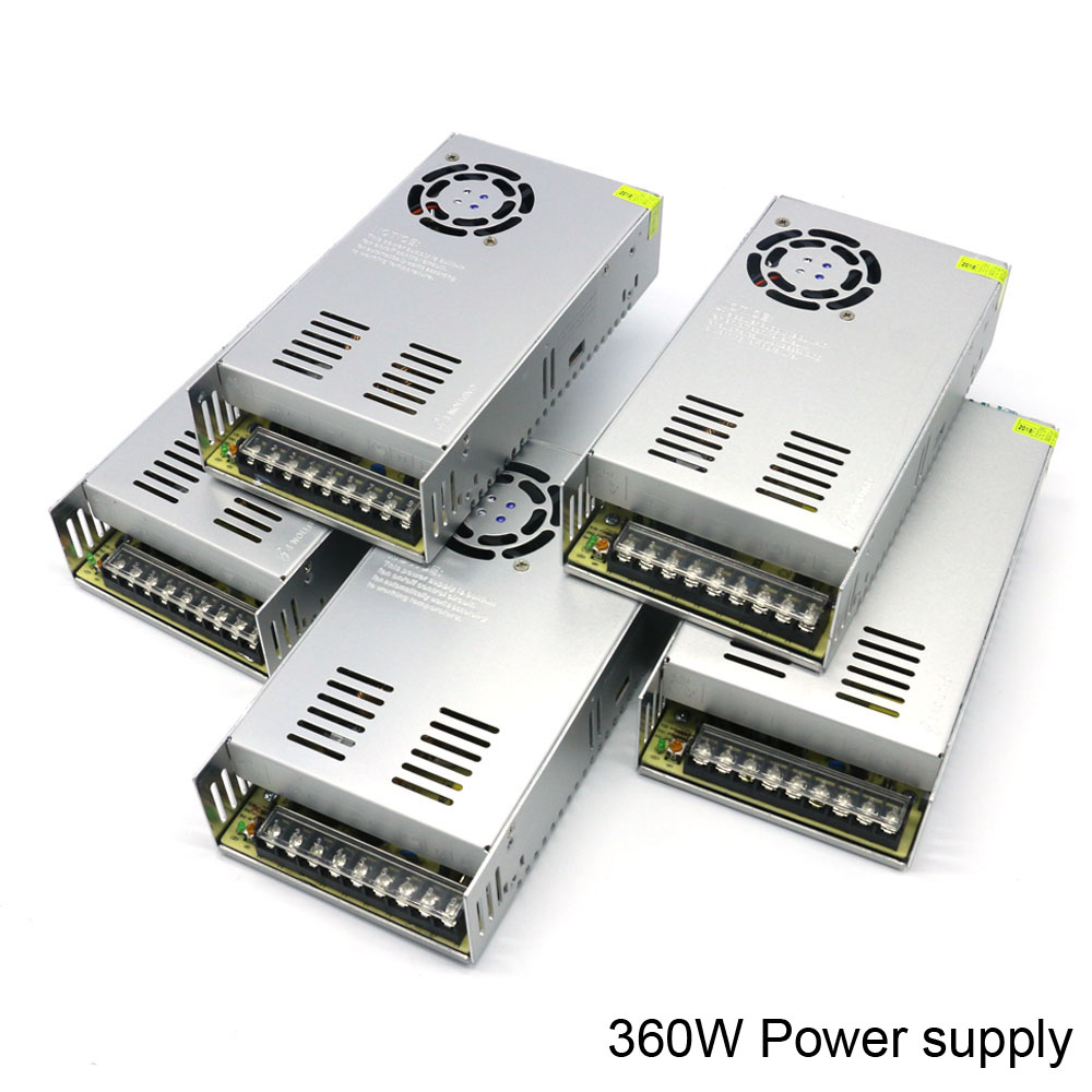 Dc Switching Power Supply Ac 110V 220V to Dc 5V 12V 24V 36V 48V Power Supply 350W 360W Regulated Dc Power Supply Transformer switching power supply 50w 12v 24v double output ac dc power supply for led strip transformer ac 110v 220v to dc 12v 24v