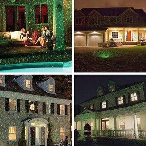 Image 5 - 屋外移動フルスカイスターレーザープロジェクターライトクリスマスグリーン & レッド LED ステージライト屋外風景芝生ガーデンレーザーライト