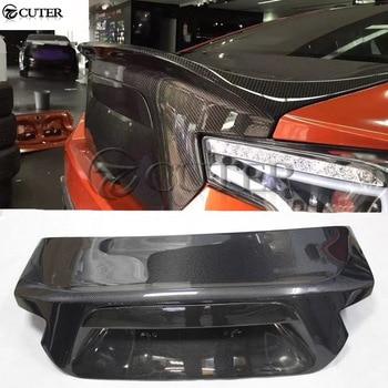 Cubierta trasera de fibra de carbono GT 86 BRZ para Toyota GT 86 Subaru BRZ estilo de coche 13-16