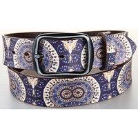 Fancy Style Men S Genuine Leather Belt Digital Kiwi Printing Wide Belts Special Designer Real Leather