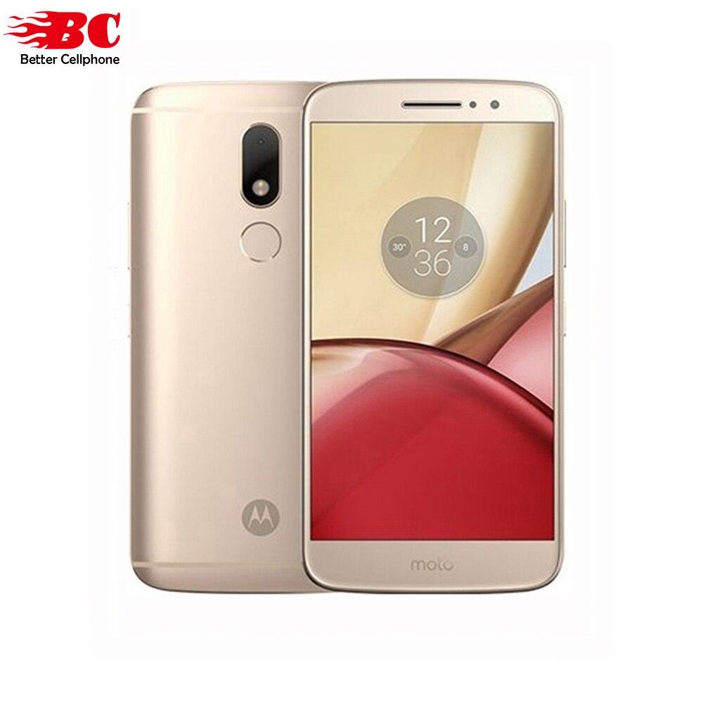 Original Motorola Moto M XT1662 Mobile Phone 4G LTE MTK Helio P15 Octa Core 5 5