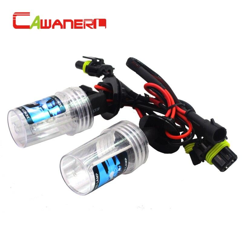 Cawanerl H1 55W Car HID Xenon Bulb 12V Auto Headlight Fog Lamp 3000K 4300K 6000K 8000K 10000K 15000K