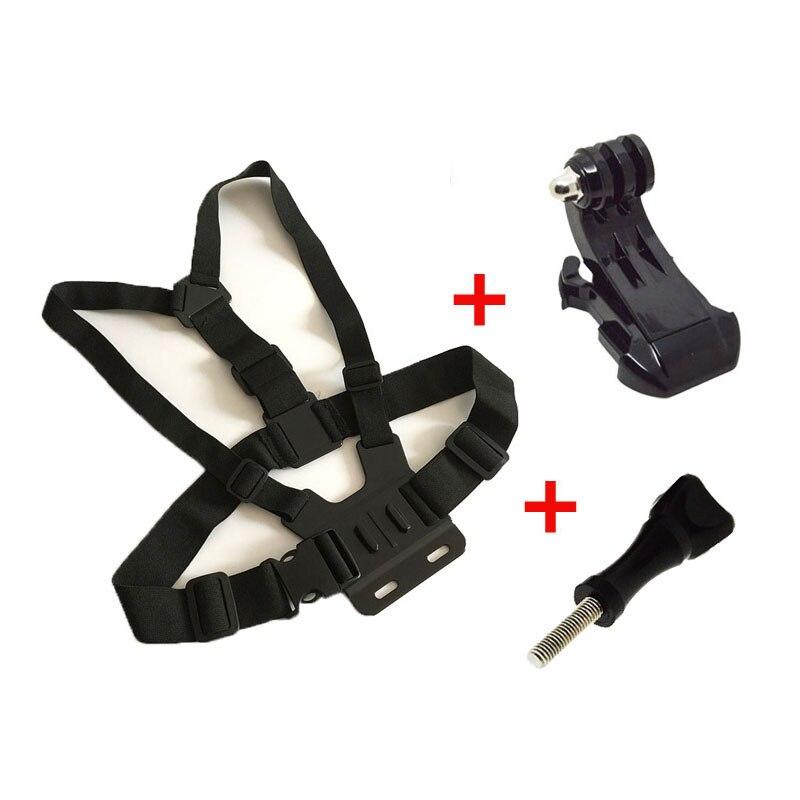 Chest Mount Chesty Harness SJCAM Xiaomi Yi with J-Hook Adjustable Strap Belt