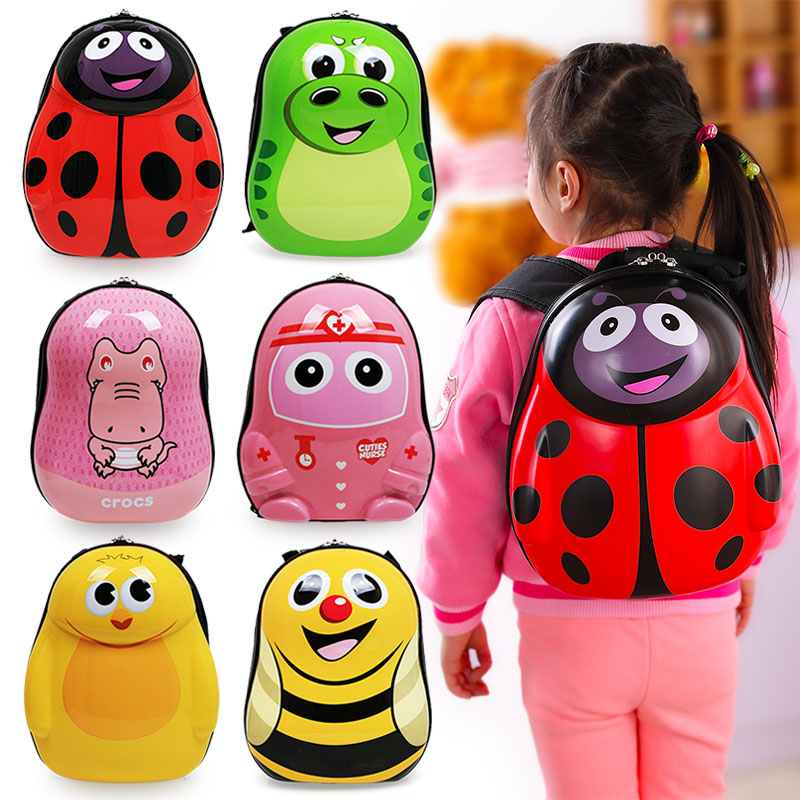 купить Cartoon pvc shell Kids Backpacks Baby Schoolbag kindergarten Backpack Cute Children School Bags for Girls boys gift 13 style онлайн